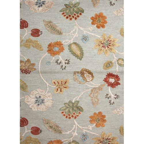 Jaipur Rugs Blue Sea Blue Floral Rug
