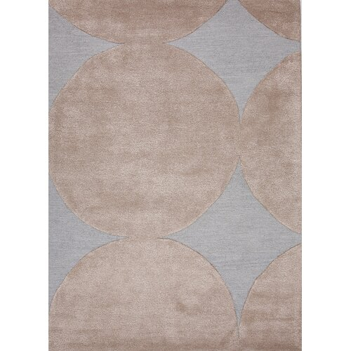 Jaipur Rugs Blue Pastel Blue/Silver Geometric Rug