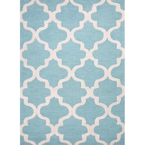 Jaipur Rugs City Blue Geometric Rug
