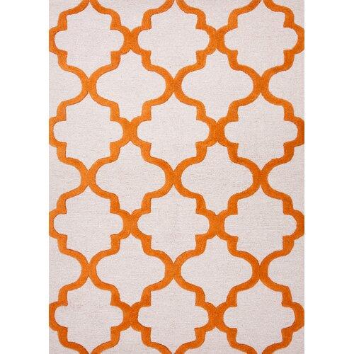 Jaipur Rugs City Red/Orange Geometric Rug