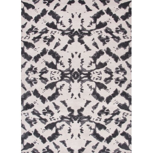 Jaipur Rugs Foundations By Chayse Dacoda White/Black Abstract Rug
