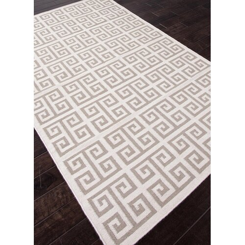 Jaipur Rugs Urban Bungalow White Geometric Rug