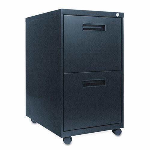 Alera® 2-Drawer Mobile Pedestal File