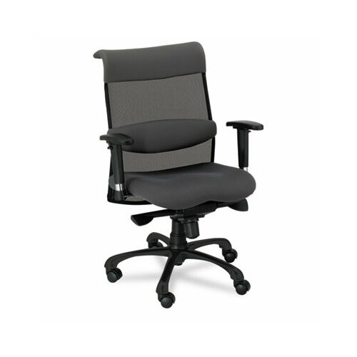 Alera® Eon Series Mid-Back Swivel and Tilt Office Chair with T-Arms