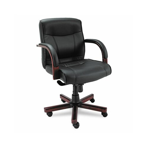 Alera® Madaris Mid-Back Leather Executive Chair