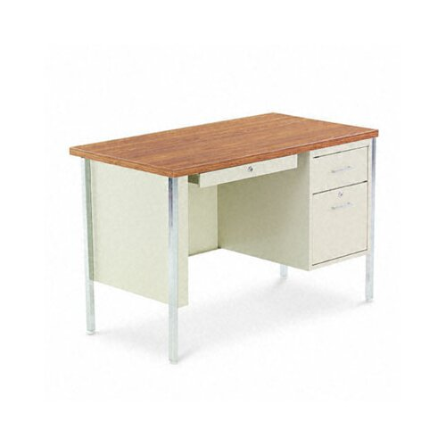 Alera® Executive Desk with Single Pedestal
