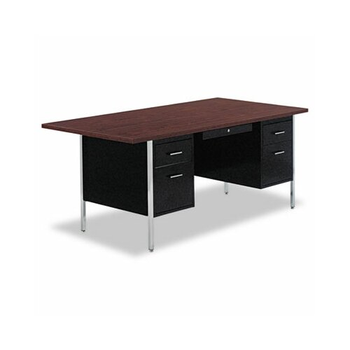 Alera® Computer Desk with Modesty Panel