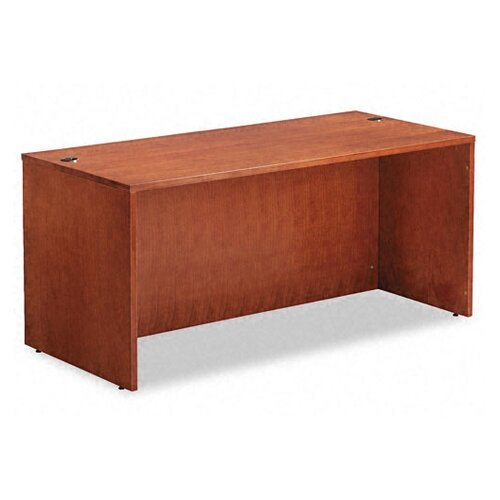 "Alera® Verona Veneer Series 66"" Straight Front Executive Desk Shell"