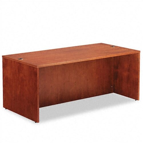 "Alera® Verona Veneer Series 72"" Straight Front Executive Desk Shell"