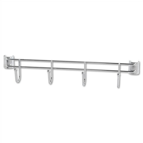 "Alera® 18"" Hook Bars for Wire Shelving in Silver"
