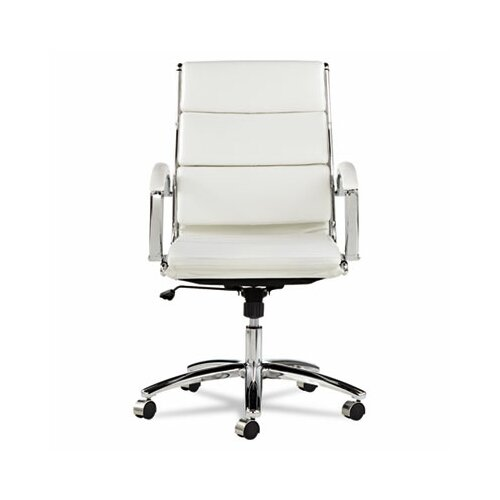 Alera® Neratoli Mid-Back Slim Profile Office Chair with Arms