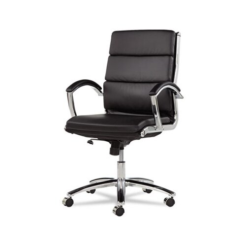 Alera® Neratoli Mid-Back Slim Profile Office Chair