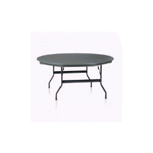 KI Furniture Duralite Round Folding Table