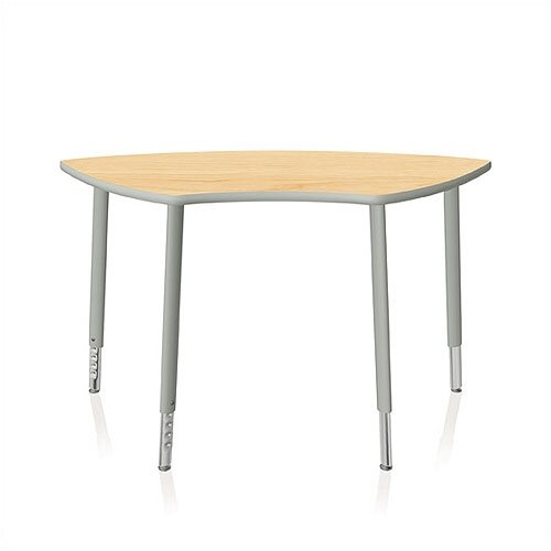"KI Furniture Intellect Series 56"" x 24"" Activity Table with Adjustable Legs"