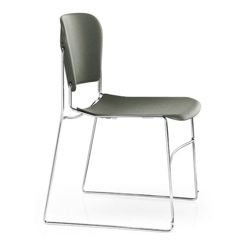 KI Furniture Perry Stack Chair with Chrome Frame