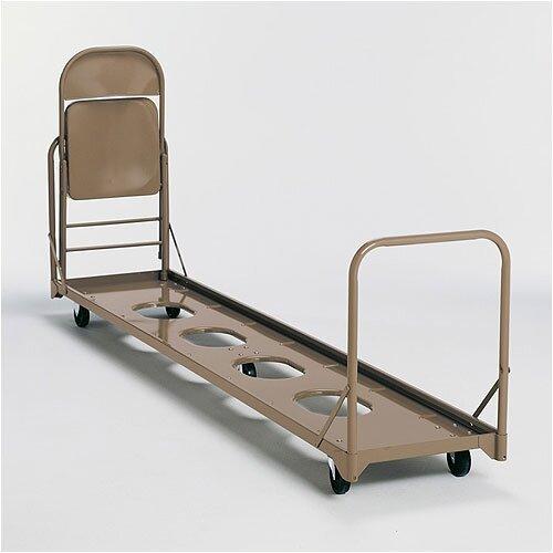KI Furniture Vertical Folding Storage Caddy Chair Dolly