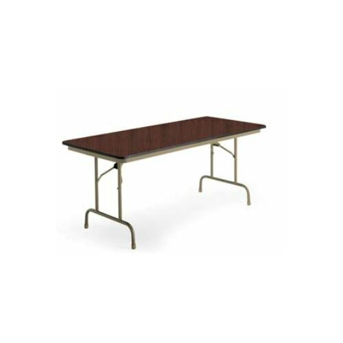 KI Furniture Heritage Rectangular Folding Table