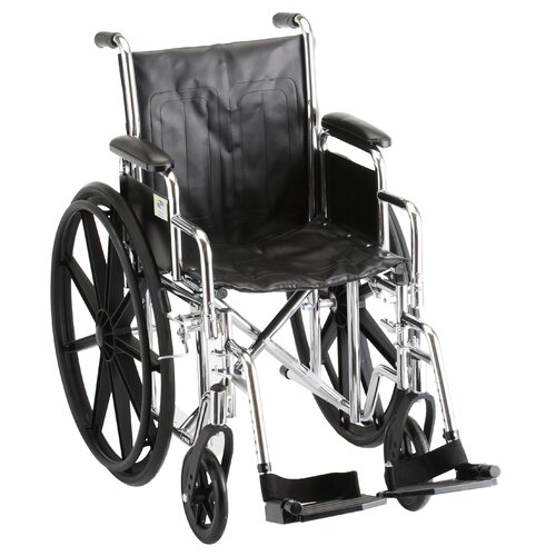 GO! Mobility Steel Standard Bariatric Wheelchair