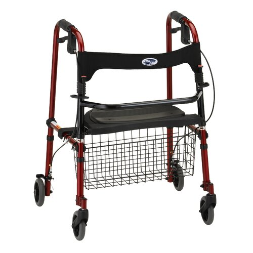 "Nova Ortho-Med, Inc. ""Cruiser De-light"" Folding Rolling Walker"