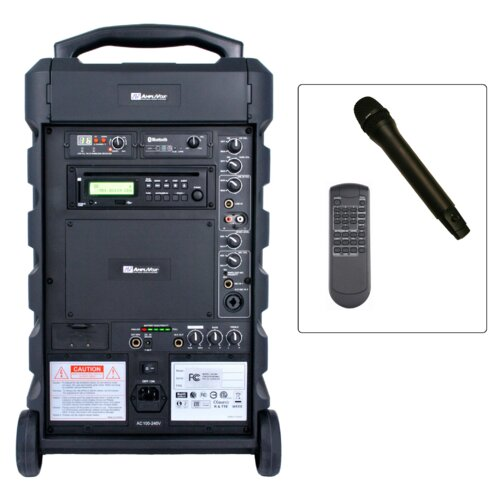 AmpliVox Sound Systems Titan Wireless Portable PA System
