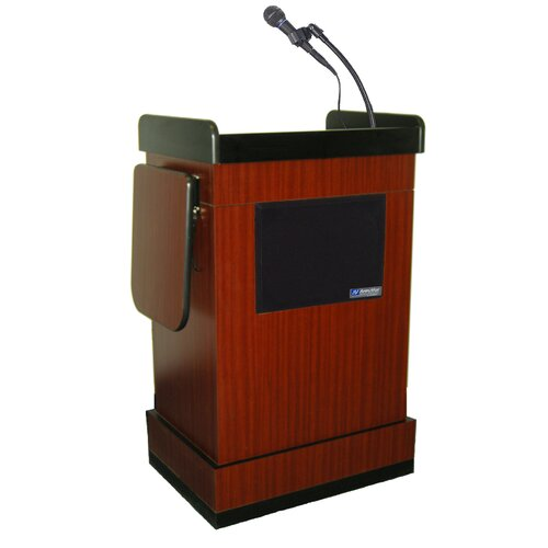 AmpliVox Sound Systems Multimedia Computer Full Podium