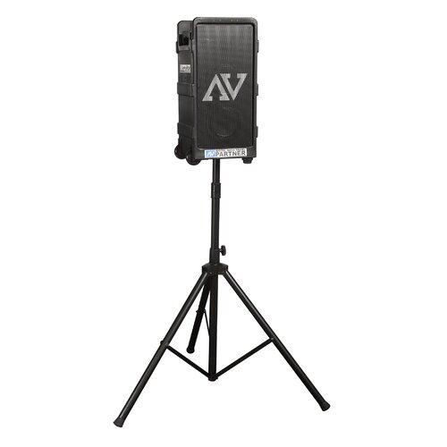 AmpliVox Sound Systems Digital Audio Travel Partner 250 Watt PA System