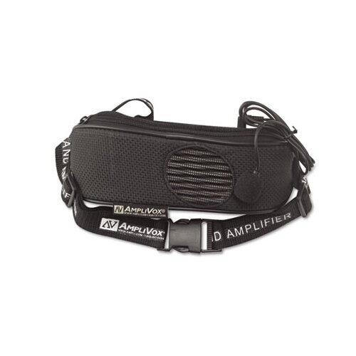 AmpliVox Sound Systems BeltBlaster PRO Personal Waistband Amplifier, 5 Watts, 1 1/2 lb.