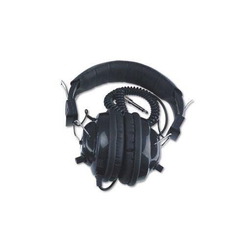 AmpliVox Sound Systems Deluxe Mono Volume Control Stereo Headphones