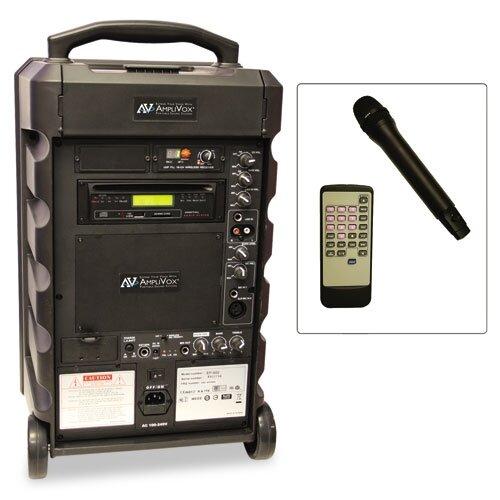 AmpliVox Sound Systems Titan Wireless Portable PA System