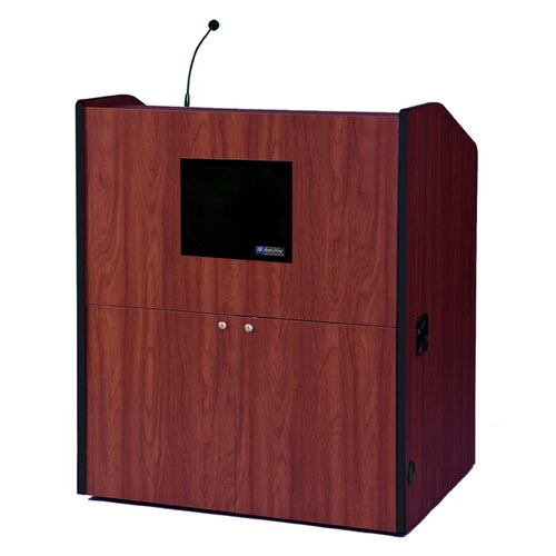 AmpliVox Sound Systems Wide Multimedia Full Podium