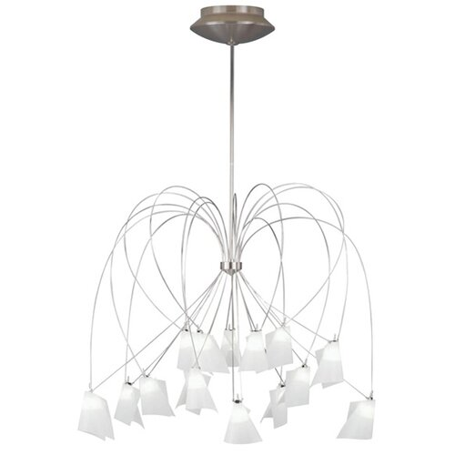 T Trak Rhapsody 15 Light Chandelier