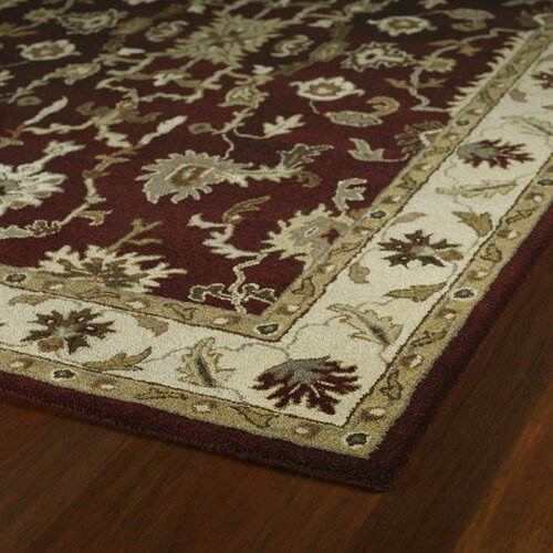 Kaleen Picks Dyches Burgundy Rug