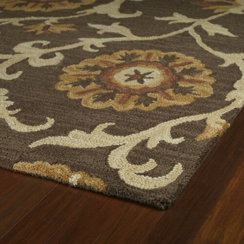 Kaleen Carriage Cornish Brown Rug
