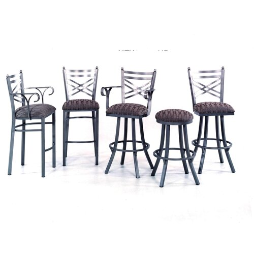 "Tempo New Rochelle 30"" Swivel Bar Stool with Cushion"