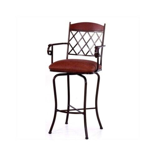 "Tempo Madrid 26"" Bar Stool with Cushion"