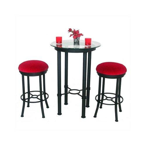 Tempo Bullseye 3 Piece Pub Table Set