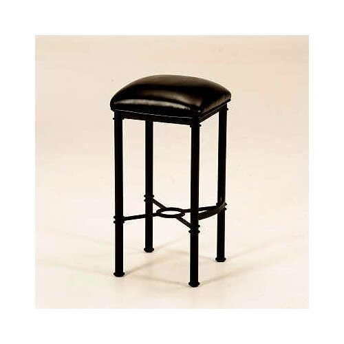 Hermosa Backless Bar Stool (Matte Black)