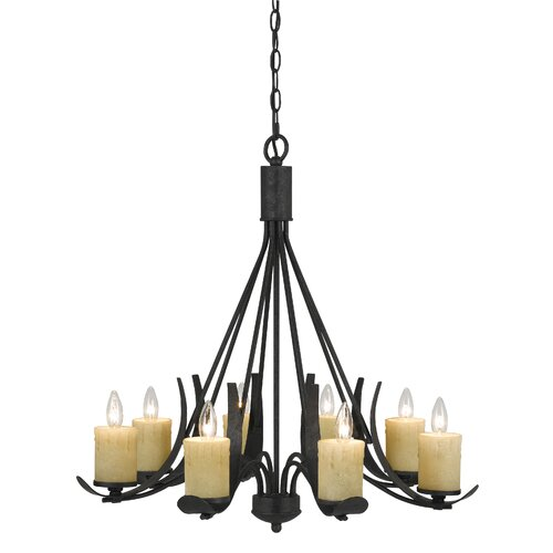 Morelis 8 Light Candle Chandelier