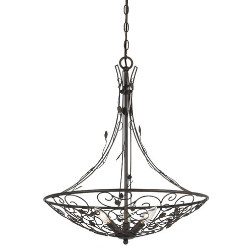 Varano 3 Light Bowl Chandelier