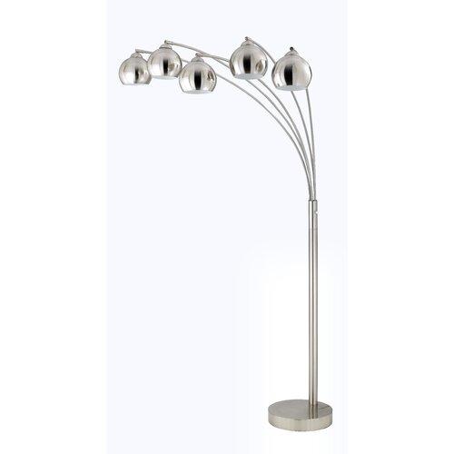 Cal Lighting 5 Light Arc Floor Lamp