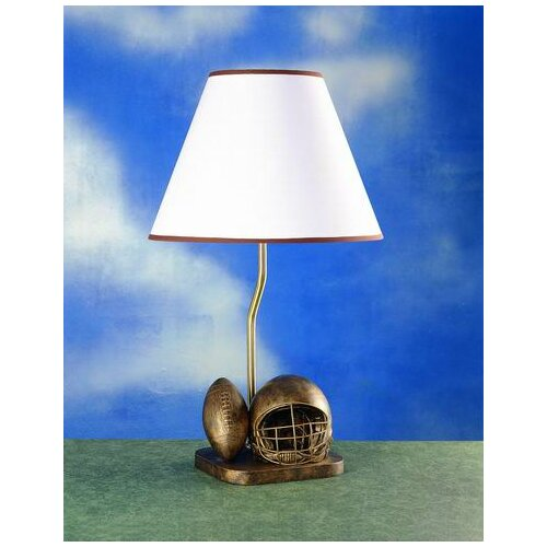 """Cal Lighting 20"""" H Table Lamp with Empire Shade"""