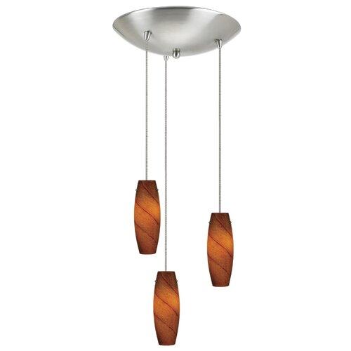 Low Voltage 3 Light Pendant
