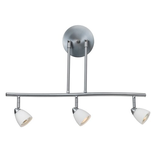 Cal Lighting Serpentine 3 Light Track Light with Glass