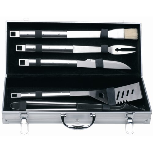 BergHOFF International Cubo 6 Piece BBQ Tool Utensil Set