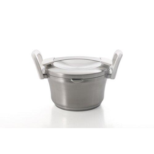 Auriga Stainless Steel Round Casserole