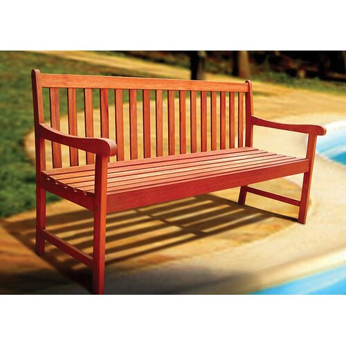 Vifah Outdoor Nobi Wood Garden Bench