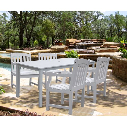 Vifah Bradley 5 Piece Dining Set