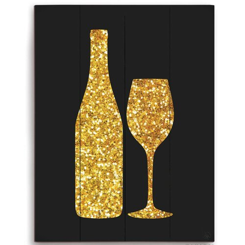 Wine Bottle Wall Art Click Wall Art Sparking Wine