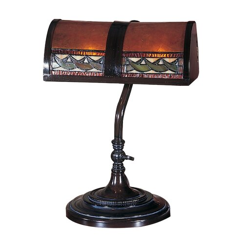 """Dale Tiffany Egyptian 14"""" H Table Lamp"""