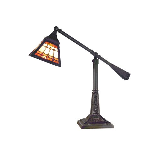 Dale Tiffany Sunset Mission 1 Light Table Lamp